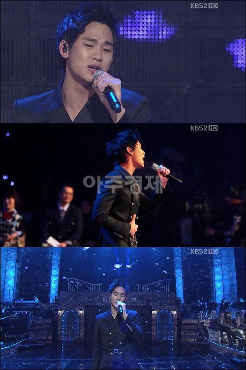 Kim Soo Hyun noi bat tren san khau quot;Dream High Special Concertquot;, khong ho danh la K