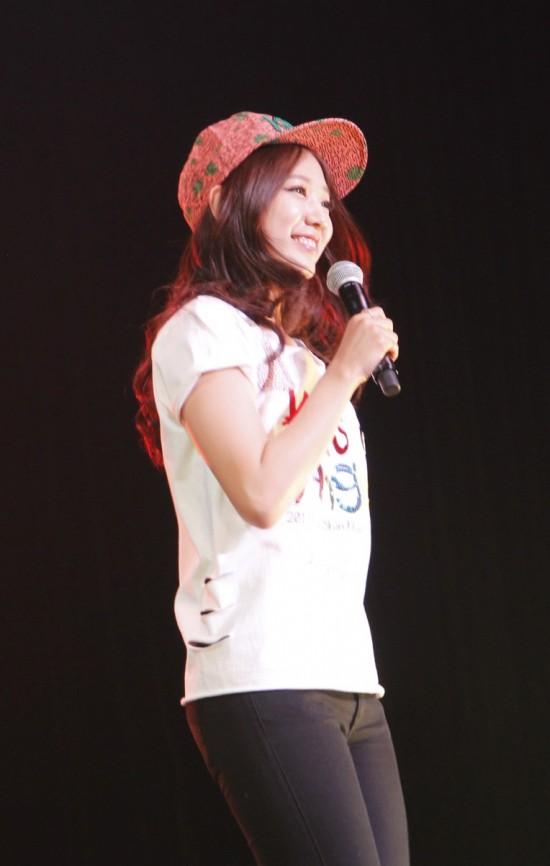 Photo & News] Park Shin Hye's Fan Meeting Tour Makes a Stop in