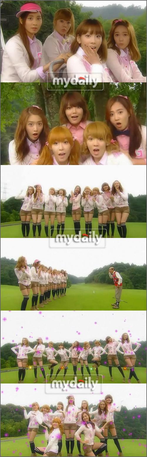 SNSD làm khách mời trong drama Sazae-san Season 3 201101031533121111_1