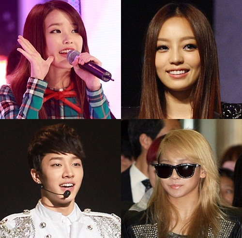 News] Although eliminated in JYP audition, Goo Hara, IU, CL