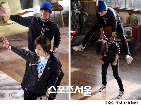 Hinh anh than mat cua Kim Soo Hyun va Eun Jung: Nhu cap doi thuc su