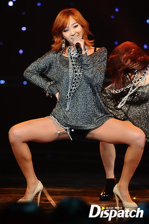 Why do girl group soloists keep doing the same thing ... Hyorin Scandal