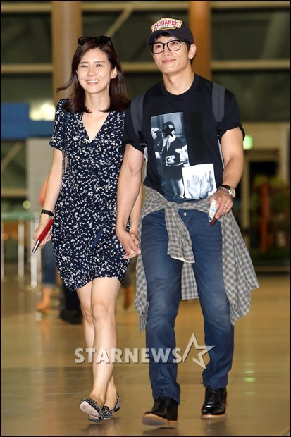 sung kang и его жена