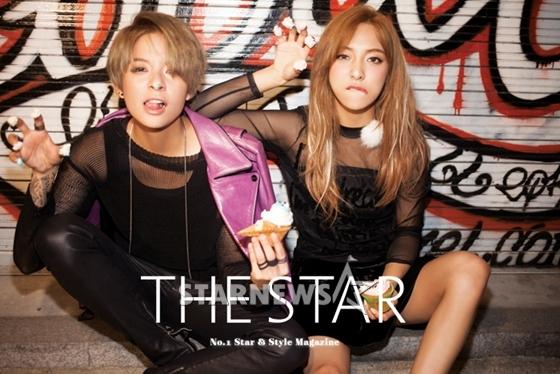 [NEWS PIC] 150922 f(Amber)+f(Luna) = THE STAR Magazine October Issue [1P] – f(♥)