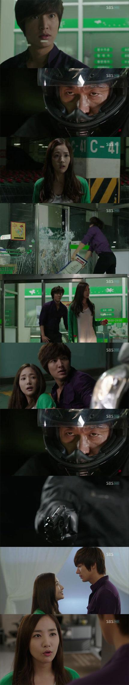 """'시티헌터' 박민영, 이민호에 """"강해져서 너 지켜줄..."""